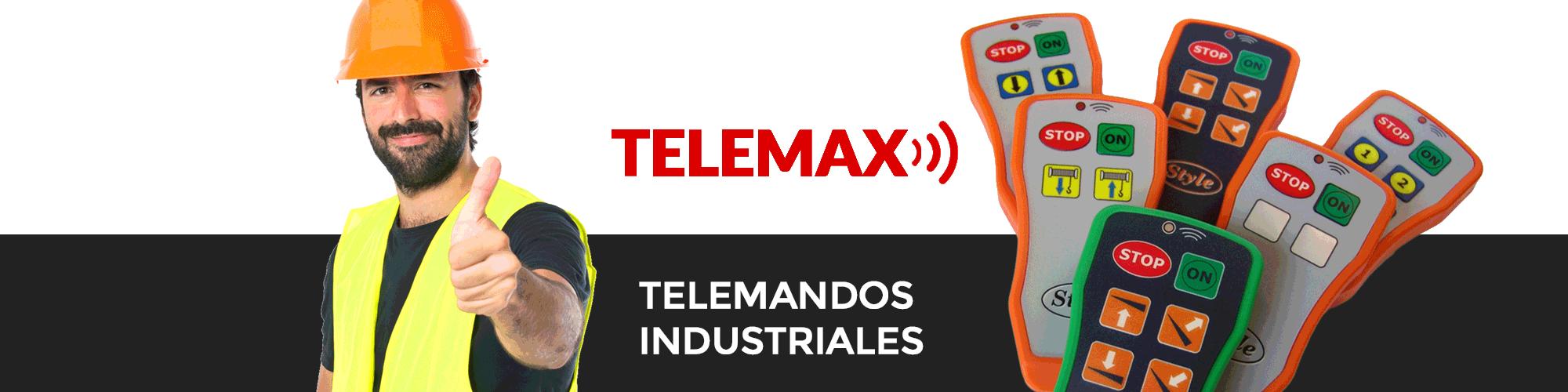Telemax | Fabricación y Venta de Mandos Grúas, Mandos Zepro, Mandos Dhollandia, Mandos Cabrestante.